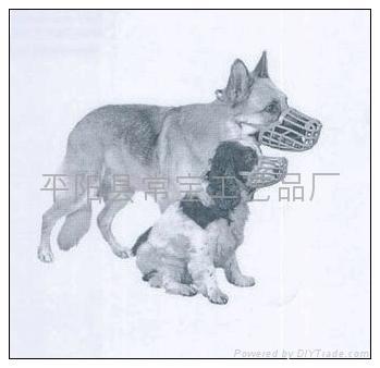 寵物防護性口罩狗嘴套 3