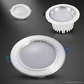 Pure white warm white 5 inch 12W Led