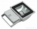 70~100W COB IP65 LED flood light 5