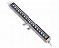 IP65 waterproof 18W RGB LED wallwasher 4