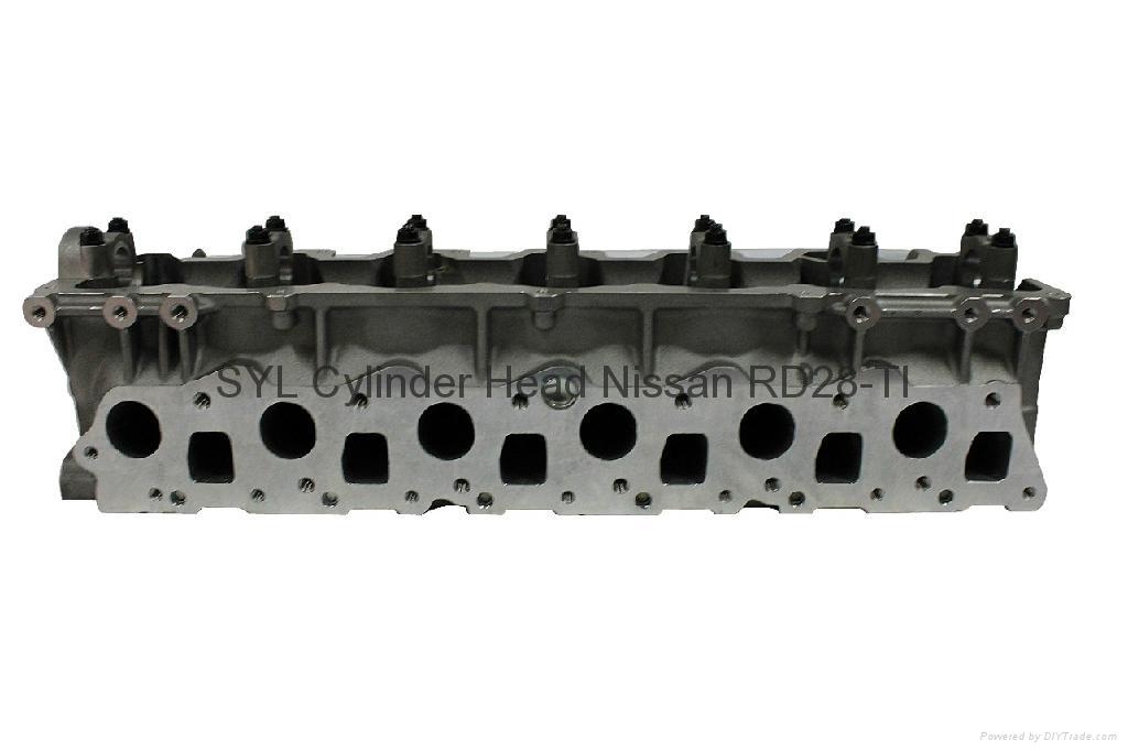 Nissan  RD28 RD28-T RD28-TI Cylinder Head     1