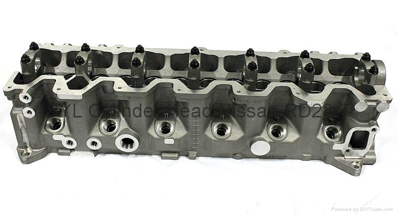 Nissan  RD28 RD28-T RD28-TI Cylinder Head     2