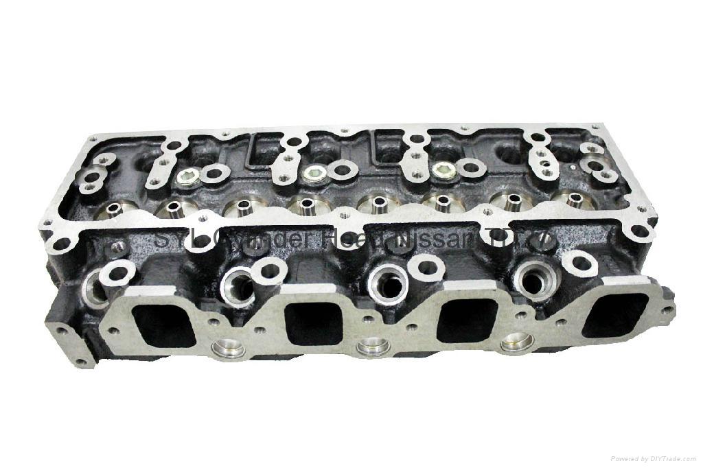 Nissan TD25 TD27 TD27-T TD42 Cylinder Head     2