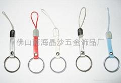 合金指環手機繩