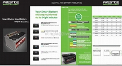 Electronic car Battery