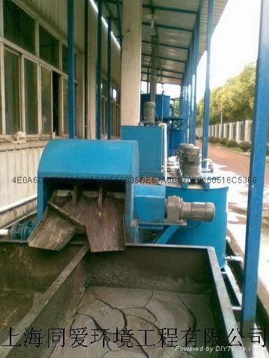 石材加工廢水處理設備 2