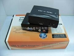 VGA轉HDMI轉換器