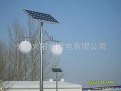 長春太陽能庭院燈