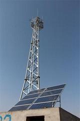 長春瀋陽太陽能無線視頻遠程監控供電系統