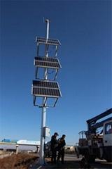 瀋陽長春太陽能遠程視頻監控供電系統