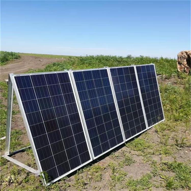 长春沈阳太阳能无线视频远程监控供电系统 1