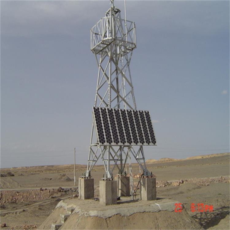 长春沈阳太阳能无线视频远程监控供电系统 2