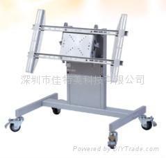 液晶电视移动支架/台式移动电视架/可推动电视移动架
