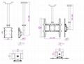 液晶電視弔架/電視弔架/LED電視弔架/LCD顯示器弔架 2