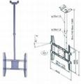 液晶電視弔架/電視弔架/LED電視弔架/LCD顯示器弔架 3