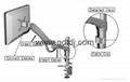 萬向延伸旋轉顯示器支架 昇降調節電腦挂架DMAG-600A 3