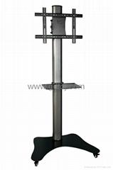移动电视架 LED电视移动架 落地式电视挂架ZMS-181