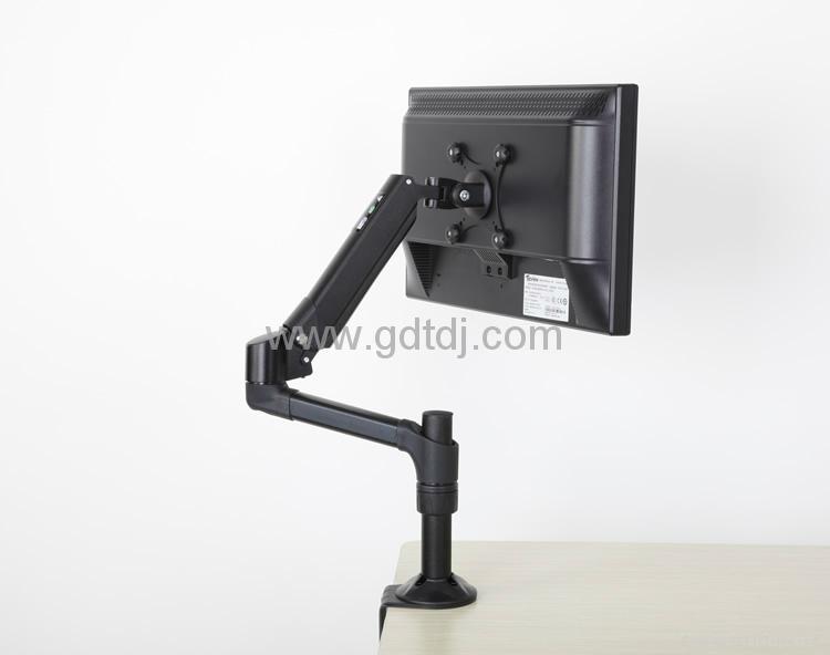 气压升降显示器支架 万向旋转电脑支架EA2-5522G 2