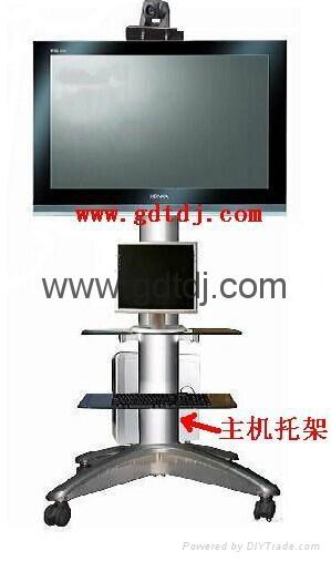 視頻會議移動電視架 電視移動架 展會電視挂架LP55T 4