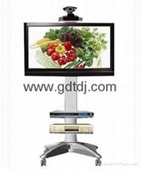 視頻會議移動電視架 電視移動架 展會電視挂架LP55T