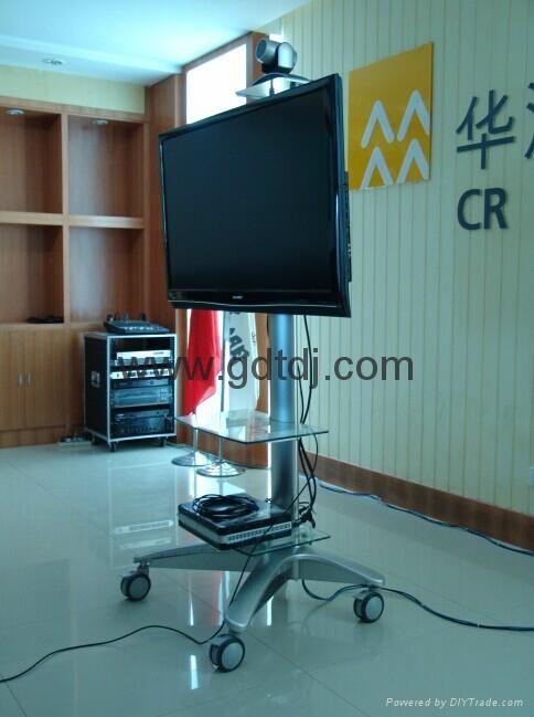 視頻會議移動電視架 電視移動架 展會電視挂架LP55T 2