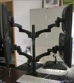四屏顯示器支架  萬向旋轉電腦挂架 桌面電腦支架 3