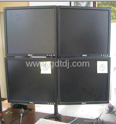 四屏顯示器支架  萬向旋轉電腦挂架 桌面電腦支架 5