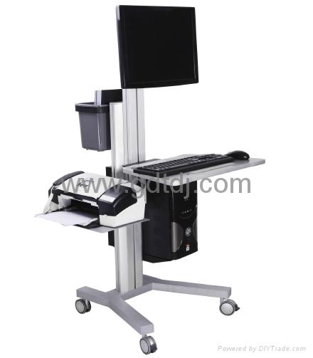移动电脑架  医疗工作台 医疗电脑架 1