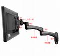 萬向旋轉電腦支架 顯示器電腦壁挂架 WMA-500 2