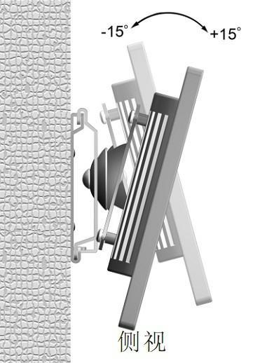防盜 旋轉電腦壁挂架 顯示器壁挂架N3N1-S 3
