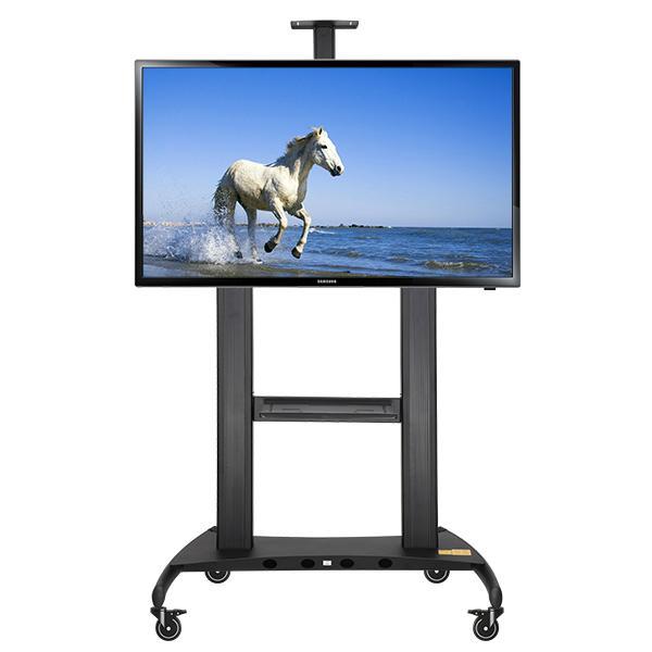 72寸84寸100寸電視移動架  視頻會議移動電視架  2