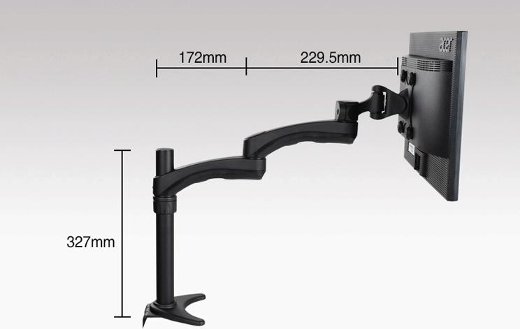 万向延伸旋转显示器支架 电脑一体机支架DMAG-500 2