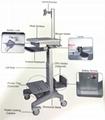 医疗电脑移动架 显示器移动架 医疗移动工作台   3