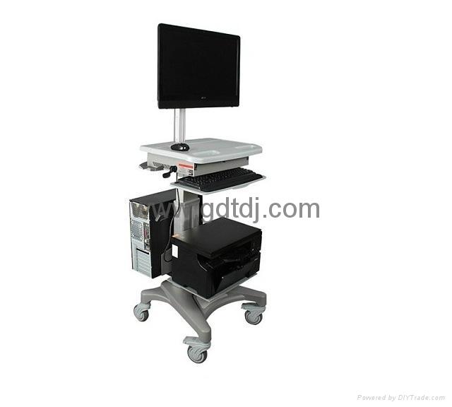 医疗电脑移动架 显示器移动架 医疗移动工作台   1