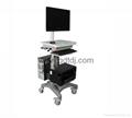 医疗电脑移动架 显示器移动架