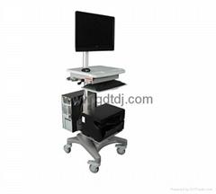 医疗电脑移动架 显示器移动架 医疗移动工作台