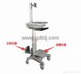 医疗电脑移动架 显示器移动架 医疗移动工作台   7