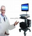 医疗电脑移动架 显示器移动架 医疗移动工作台   8
