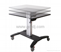 Notebook lift table  Lift the desk  Mobile Sit And Stand Desk 5