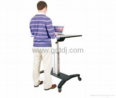 Notebook lift table  Lift the desk  Mobile Sit And Stand Desk (Hot Product - 1*)