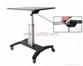 氣壓昇降辦公桌 移動辦公桌 移動工作台  筆記本辦公桌 6