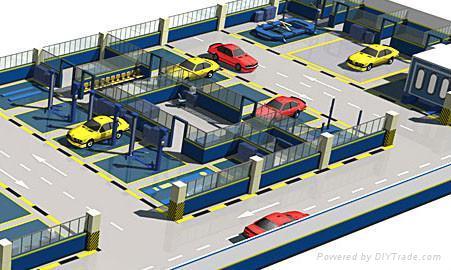 Car Workshop Repair Shop Design 1