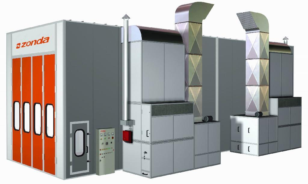 bus spray booth c900 zonda china manufacturer. Black Bedroom Furniture Sets. Home Design Ideas