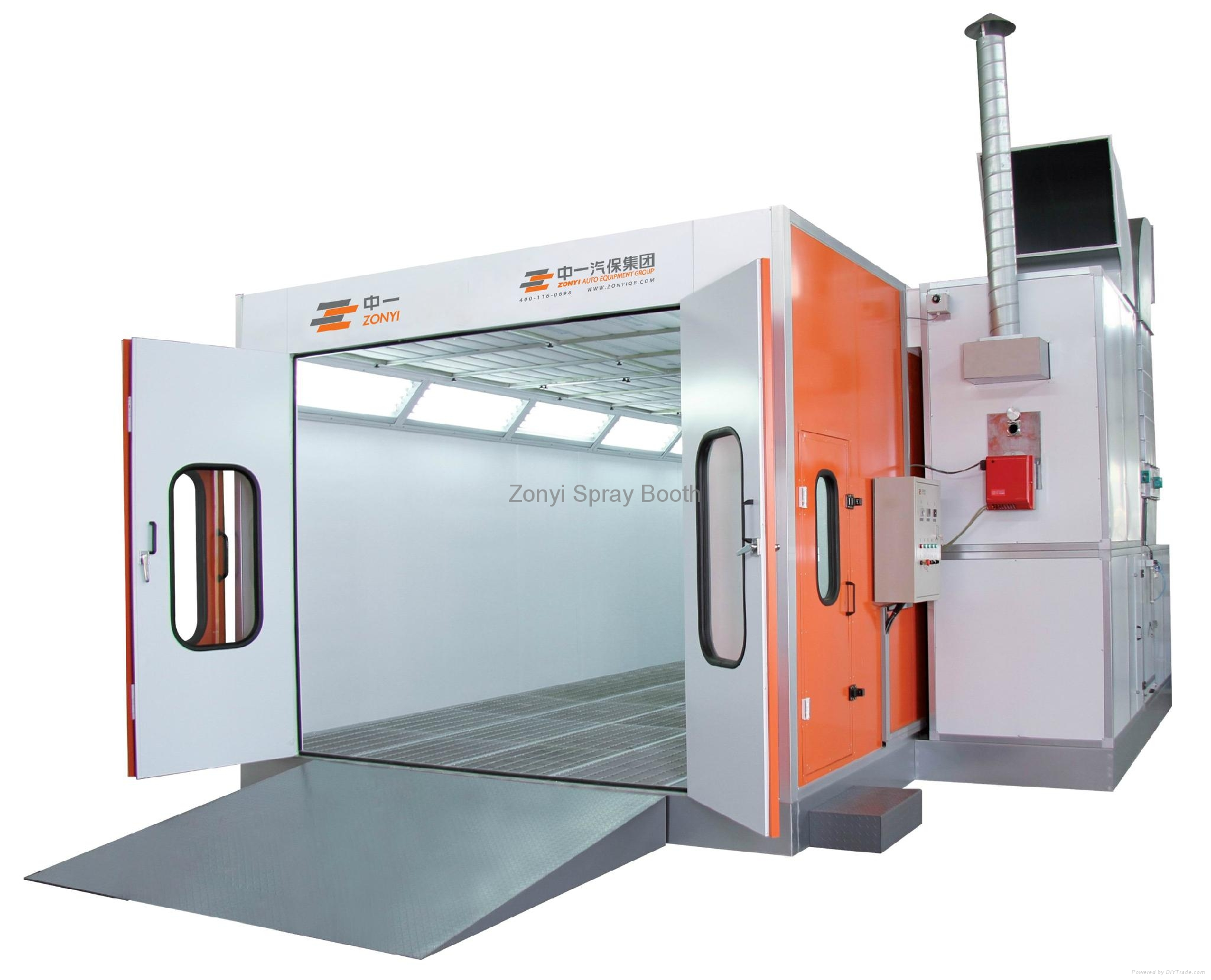 CE Spray Booth Painting Booth Oven Booth 2
