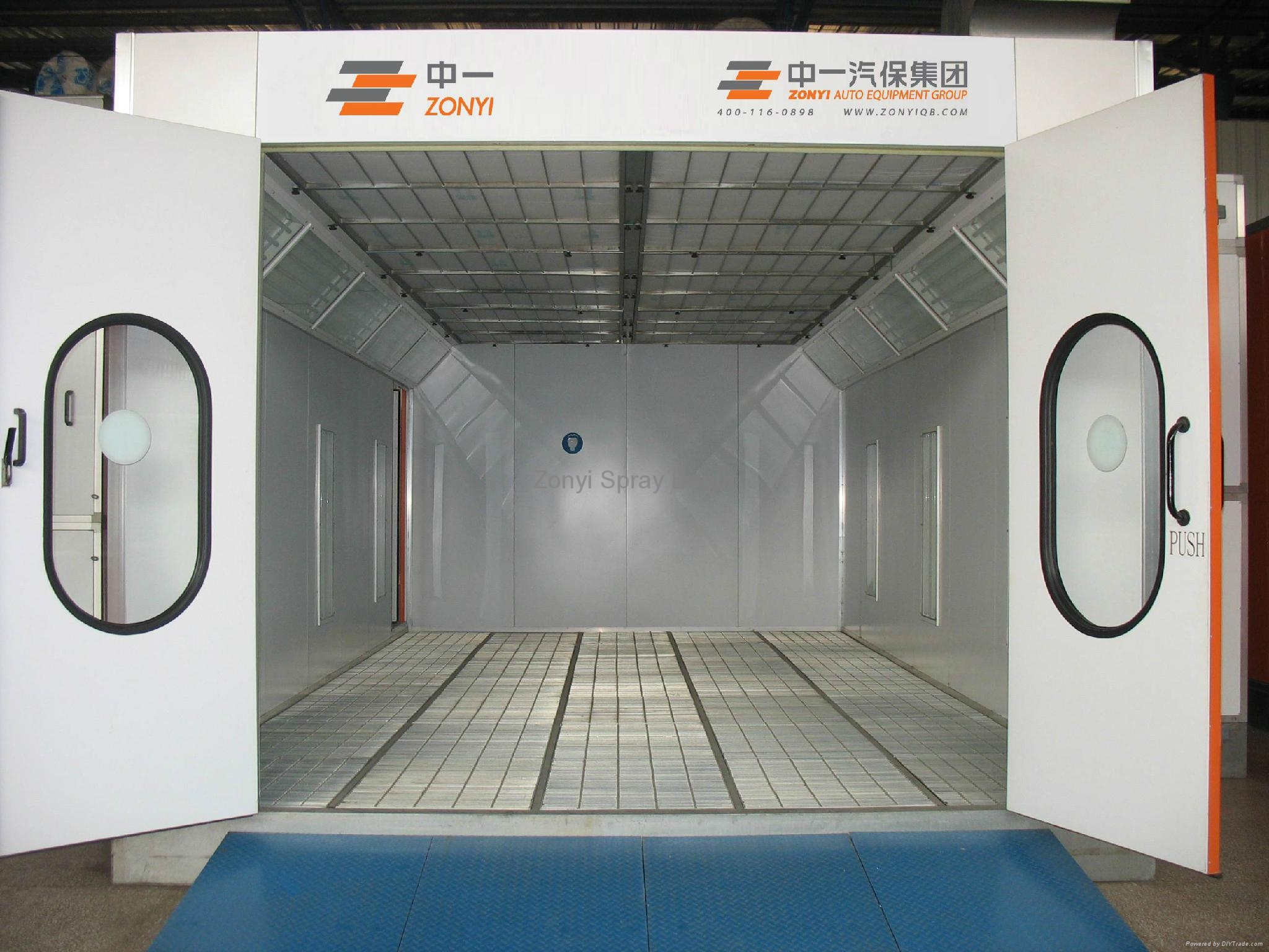 CE Spray Booth Painting Booth Oven Booth 4
