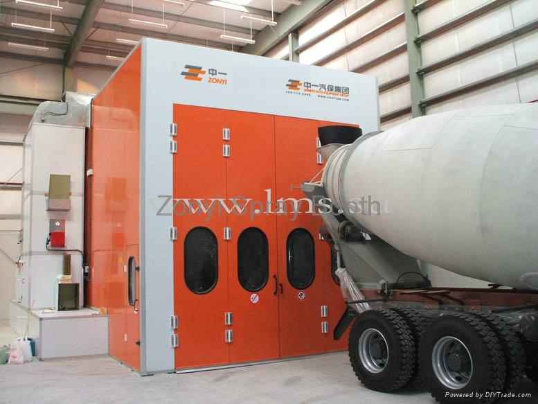 CE Spray Booth Painting booth factory 1