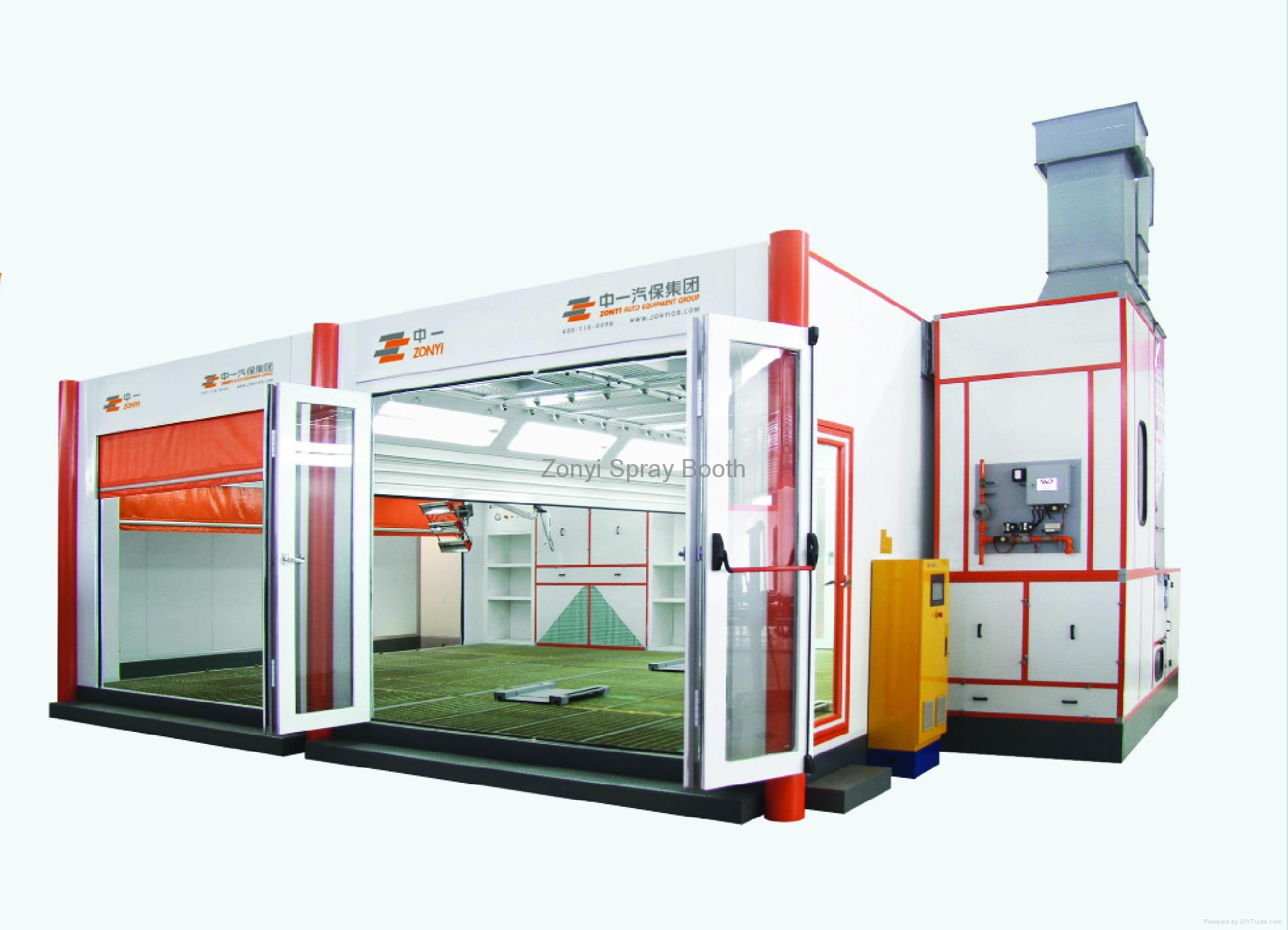 CE Spray Booth Painting booth factory 2