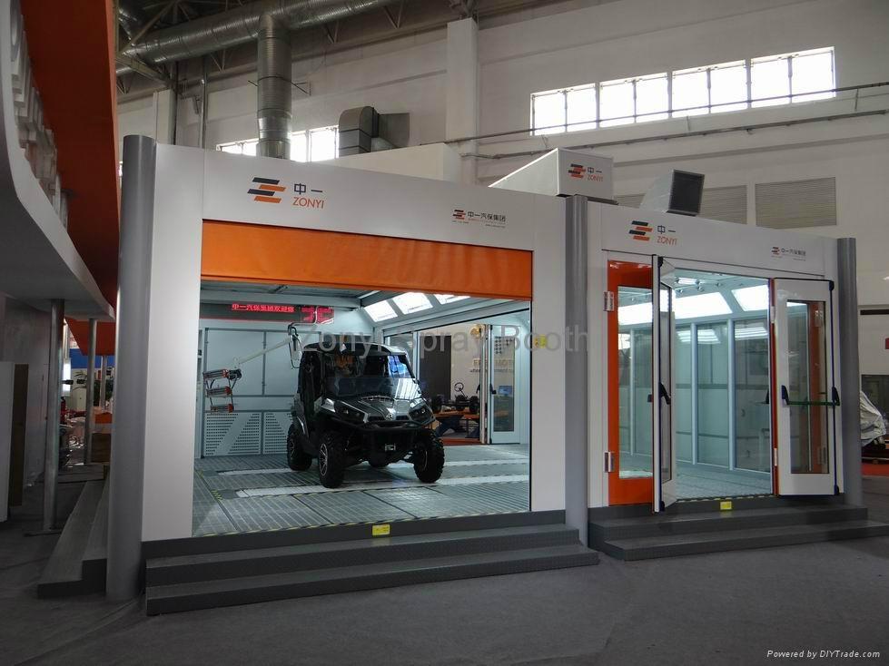 Automobile spray booth 5