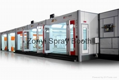 CE Spray booth TUV Spray