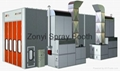 CE Spray booth TUV auto spray booth manufacture 3